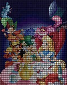 Alice's Tea Party Crochet Pattern