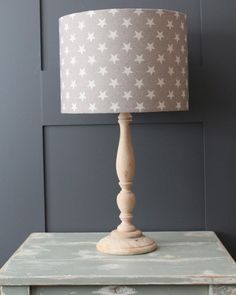 shade to go in lime room Hall Lights Ceiling, Hall Lighting, French Grey, Light Shades, Lampshades, Home Furnishings, Table Lamp, Ribbons, Stars