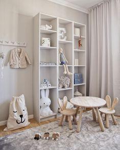 Ikea Kids Room, Kids Bedroom, Baby Boy Rooms, Little Girl Rooms, Ikea Interior, Living Room Wall Units, Baby Deco, Baby Room Decor, Kid Spaces