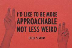 Chloe Sevigny.  Yes, this.
