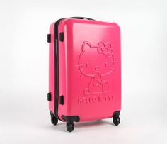 "Hello Kitty 24"" Suitcase: Pink Classic"