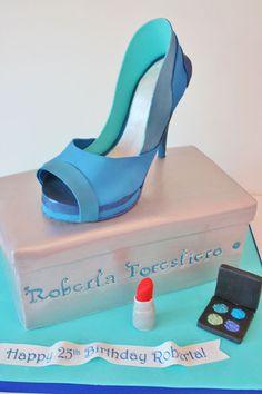 Birthday Cakes NJ - Sugar Shoe and Box Custom Cakes