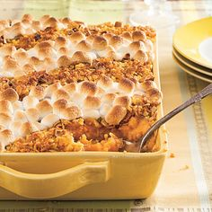 Satisfy your sweet tooth with classic and sweet potato casserole