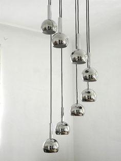 pipistrello lampe salon aluminium gae aulenti martinelli luce design lights lamps. Black Bedroom Furniture Sets. Home Design Ideas