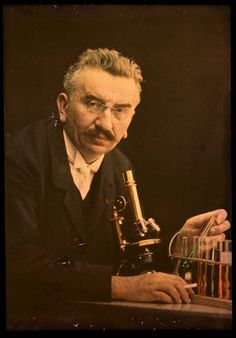 Louis Lumiere, of the Lumiere brothers, inventors, film innovators, and creators of the autochrome itself. c. 1910.
