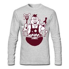 Grill T-Shirt. #Spreadshirt #Cardvibes #Tekenaartje #BBQ #Grillfest