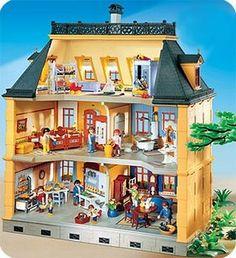 Dollhouse 1900 Large House Toys Games Playmobile Playmobile Pinterest