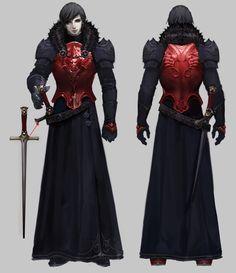 Aryon son of vampire lord Val Kar Fantasy Character Design, Character Design Inspiration, Character Concept, Character Art, Fantasy Armor, Dark Fantasy, Medieval Fantasy, Inspiration Drawing, Fantasy Inspiration