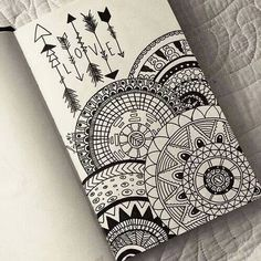 drawing, love, and mandala image