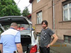 Accident de circulație, luni după-masă, pe strada Iosif Vulcan din Timișoara. Trei mașini s-au ciocnit după ce un șofer mort de beat Volkswagen, Ford