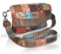 Bolsa Marina - Ida e Kika Patchwork / bag