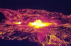 Halemaumau Lava at Night