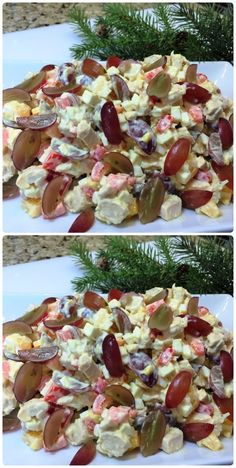 Source by Pawluschka Salad Recipes, Vegan Recipes, Cooking Recipes, Food Platters, Food Dishes, Foil Pack Dinners, Meat Salad, Fish And Chicken, Master Chef
