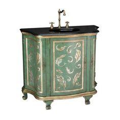 Beautiful Antique-look vanity | Aquarelle - S Rothrock Designs | Scott's Marketplace