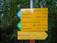 Bildergebnis für wolfsschlucht bad kreuzen Signs, Novelty Signs, Sign, Dishes