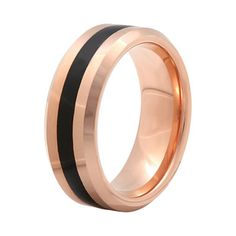 jcpenney.com |  Mens 8mm Comfort Fit Ion-Plated Tungsten Wedding Band