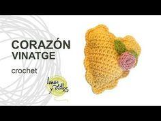 Tutorial Corazón Vintage Crochet Heart