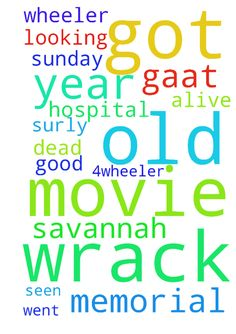 please pray for 16 year old he got in 4wheeler  wrack. -  please pray for 16 year old he got in 4wheeler  wrack. it not looking to good .I no God not dead he surly alive. he just went to the movie's with me Sunday  and seen this movie please we need your prayers .we are in savannah  ga.at memorial  hospital.  Posted at: https://prayerrequest.com/t/8L6 #pray #prayer #request #prayerrequest