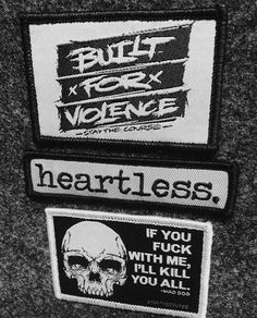 Patches and pins