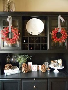 cool 46 Stunning Christmas Decorating Ideas For The Kitchen