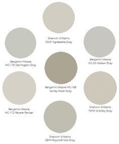 Gorgeous gray paint colors (with room pics!)   Designs By Katy