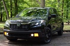 2017 Ridgeline best of both worlds! It's the only truck in it's class that allows a 4x8 sheet of plywood to lay flat but also has luxuries unimagined for a truck such as Apple Carplay and an in bed trunk!