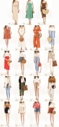 European Beach Summer Vacation The ULTIMATE Summer Vacation Outfit Ideas Guide by Miss Louie