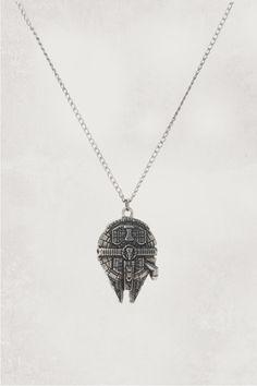 Star Wars Millennium Falcon Necklace