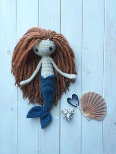 Miriam the Mermaid - Crochet creation by TheMerinoMermaid