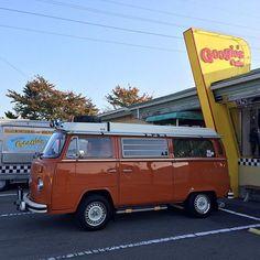 Liked on InstaGram: - ☀️Googie's Cafe !!  行ってみたかったんだよね〜 千曲店で食事して、南長野店でデザート食べてきました〜  - #OldVW #AircooledVW #VWbulli #Type2 #BUS #Baywindow #Combi #Kombi #WESTFALIA #VWwesty #VWCamper #CampMobile #Camper #1974 #Orange #vanlife #vanlifers #VWバス #ワーゲンバス #タイプ2 #ウエストファリア #ウエスティー #キャンピングカー #キャンパー #レイトバス #レイトレイト #オレンジ #ゴキゲンワーゲン #GoogiesCafe #グーギーズカフェ