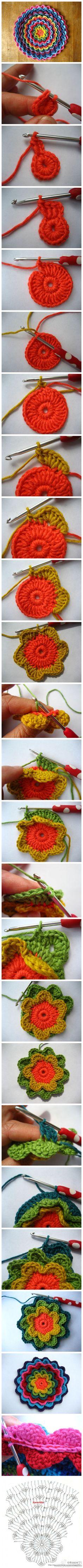 FIFIA CROCHETA blog de crochê : almofada de crochê com grafico