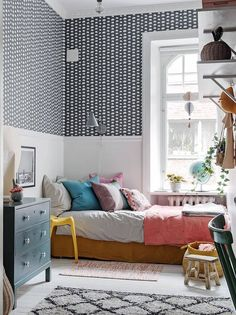 This is one Incredibly charming family apartment with a calm, unpretentious and relaxed atmosphere. Situated in Gothenburg, Sweden. Family Apartment, Apartment Design, Interior Design Inspiration, Room Inspiration, Design Ideas, Lovely Apartments, Luxury Apartments, White Wooden Floor, Creative Kids Rooms