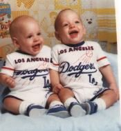 MY TWIN GRANDSONS TOMMY AND BILLY EDWARDS 1988