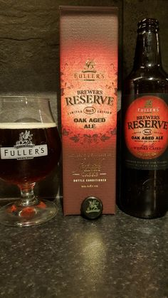 Fullers Brewers Reserve 5. Watch the video beer review here www.youtube.com/realaleguide   #CraftBeer #RealAle #Ale #Beer #Beerporn #FullersBrewersReserve5 #FullersBrewersReserve #BrewersReserve #FullersSmithAndTurner #FullersBrewery #Fullers #BritishCraftBeer #BritishBeer