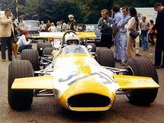 Benedicto Caldarella - Brabham BT30 [BT30-19] Cosworth FVA - Automovil Club Argentina - XVIII Grand Prix de Rouen-les-Essarts 1970 - Non championship race - © Gerard Barathieu