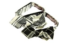 Alexander Olch and Maison Kitsune bow ties...make you take a second look