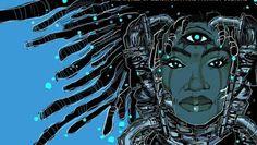 Pin by Massah Fofana on Afrofuturism,Afropocalypse and Cosmic Afritop ...