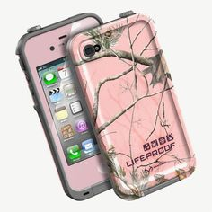Realtree Lifeproof AP Pink Camo Case for iphone 5/5s #Realtreecamo