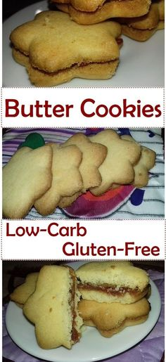Low-Carb Butter Cookies - Recipe