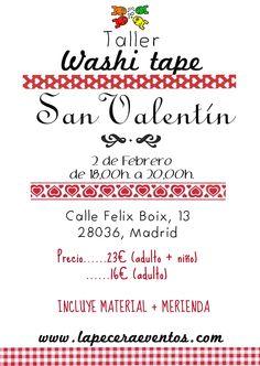 Taller de Washi - 2 Febrero Madrid