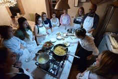 Cooking Class at Sagraincasa in #Umbria ,all about Italian food!