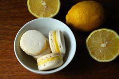 Lemon Curd Macarons | Korena in the Kitchen