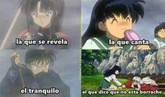 Inuyasha And Sesshomaru, Kagome And Inuyasha, Miroku, Kagome Higurashi, Inuyasha Memes, Seshomaru Y Rin, Reading Meme, Hero Wallpaper, Anime Angel