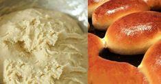 eleszto-nelkuli-kefires-teszta-lehet-belole-kifli-lepeny-es-meg-rengeteg-mas-finomsag New Recipes, Cake Recipes, Recipies, Kefir, Hot Dog Buns, Mashed Potatoes, Food And Drink, Tasty, Bread
