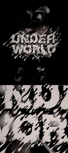 Underworld exibition poster  by Ou Yeah!