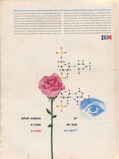 https://flic.kr/p/5USqAJ | IBM Ad | designed by Matthew Leibowitz  See more IBM Ads here