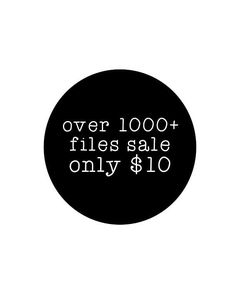 Svg, Cricut Cut Files, Silhouette Cut Files  CURRENTLY OVER 1000 FILES 300+ retired files (files that are not listed) 800+ new designs (all of the files listed in my shop, including monogram fonts) Every file listed in my shop is included in this bundle  - Can be used for commercial use,