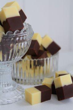 Banan- och chokladfudge