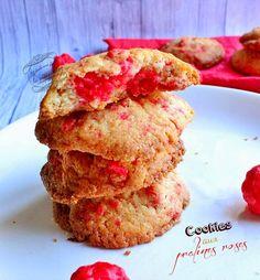 Il était une fois la pâtisserie...: Cookies aux pralines roses