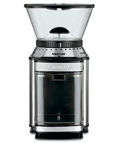 Cuisinart DBM-8 Coffee Grinder, Supreme Grind Automatic Burr Mill 2cup SS/black 6x7.13x10.75H 49.99
